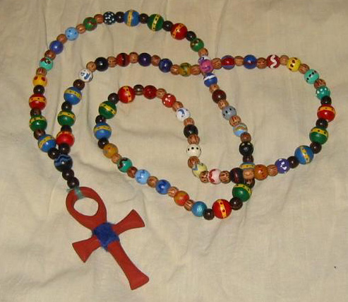 Pagan Prayer Beads from the First Kingdom Church of Asphodel